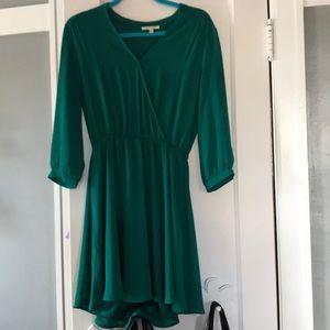 """Emerald Green Francesca's """"Miami"""" Dress"""